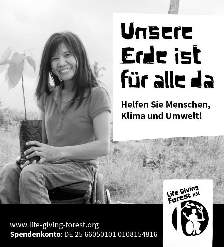Freianzeigen Life-Giving Forest e.V.